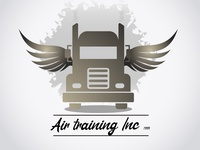 Truck 300x 100 art illustrator illustration branding vector website photoshop web logo design