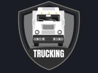 OL3O6Z1 truck illustrator illustration vector branding website photoshop web logo design