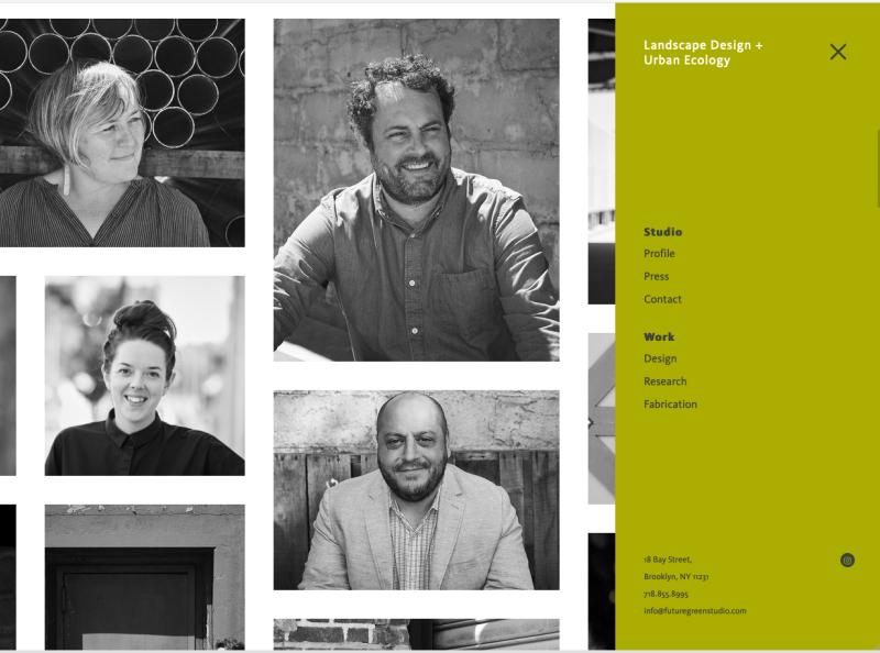 Future Green Studio Website web html5 css3 wagtail django