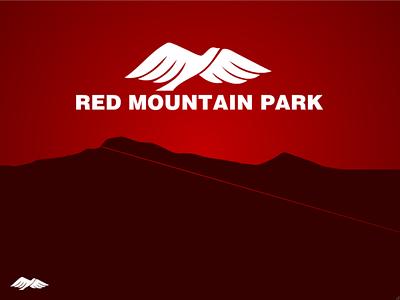 Red Mountain Park signage dataviz visual representation data visualization graphic design graphicdesign branding