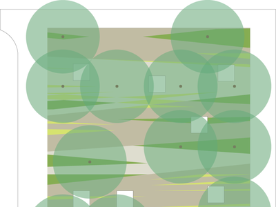 Dai-Ichi Headquarters Courtyard design design process graphic design landscape architecture