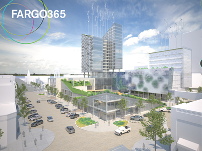 Fargo 365 Design Competition Entry diagrams mapping graphic design urban design landscape architecture