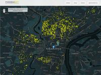 Possible City logo mapping web design dataviz data visualization