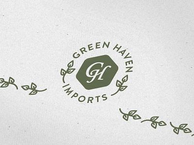 Letterhead & Logo logo letterhead badge visual identity graphic design illustration flat visual branding