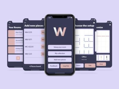 Wallace uiux uiuxdesign ui indesign maya adobe xd mobile design mobile app