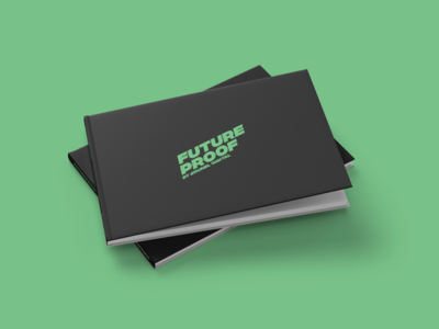 FutureProof Book layout layout design adobe photoshop adobe indesign indesign print design book cover design book design