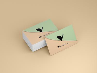 Vonda branding card design