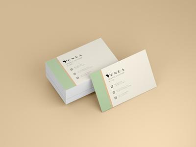 Vonda card design logo design