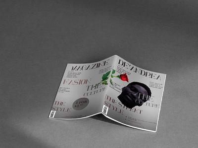Magazine design magazine design graphics