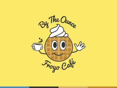 Frozen Yogurt Café Logo