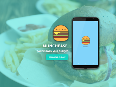 Munchease: Tinder for food delivery