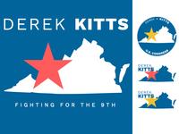 Derek Kitts Campaign Logo