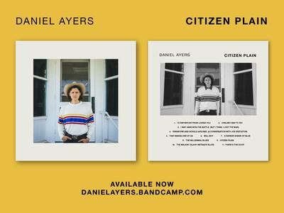 Daniel Ayers - Citizen Plain (Album Art)
