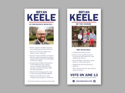 Bryan Keele Palm Card