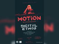 Motion Rave Poster