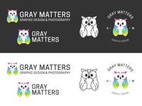 Gray Matters Design Branding