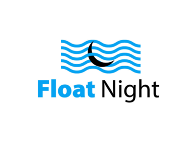 Float Night newlogo brandlogo branding logo passion waves floating float night cool amazing logotype logos brand design logo