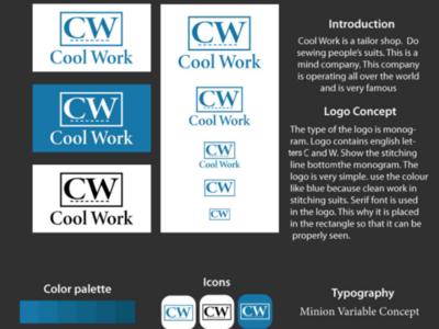 Cool Work design designer designs brandlogo brand logotype logowork logodesign logo