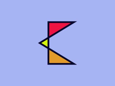 Letter C concept design designer designs letter