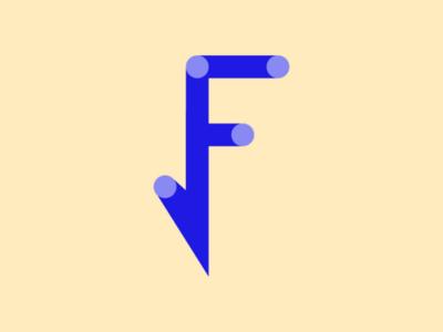 Letter F Exploration logos illustrator illustration brandsign brandlogo designer concept design logo