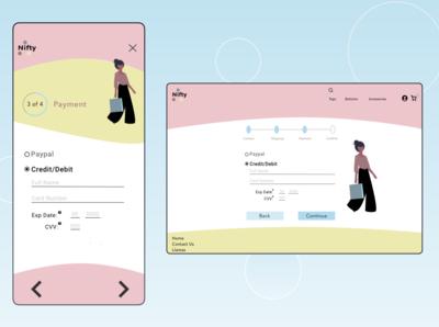 Daily UI 002 e-commerce design website web app design ui ux design ux daily ui 001 daily ui daily challange