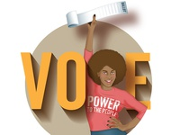 Vote! Power to the People / Full Image