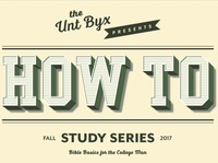 """How To"" Study Series typography illustrator art logo type branding minimal lettering vector design"