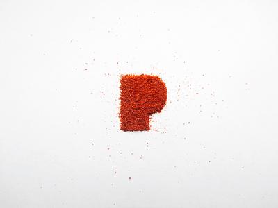 Paprika brand identity typogaphy photography logo