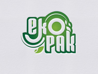 eKopak vector illustration typography logodesign creative branding creative design photoshop logo illustrator