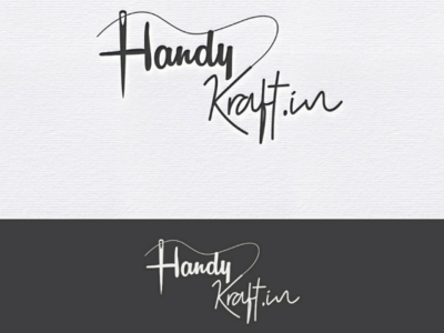 Typography logo design creative logo design