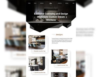 Kitchen counter top part 2 ux web ui design