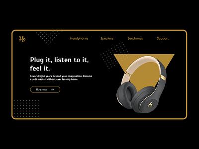 Headset headphones headset figmadesign ux web ui design
