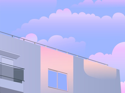Soothing Sky adobe illustrator adobe sky 2021 illustration