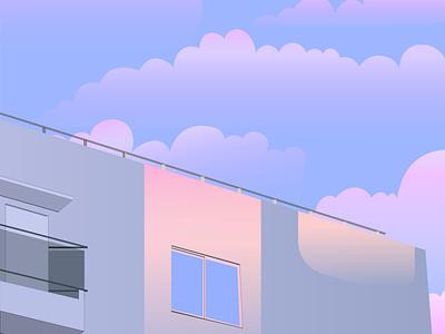 Soothing Sky adobe illustrator adobe sky 2021 illustration