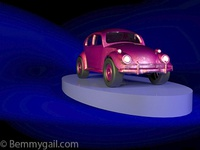 Volkswagen Beetle 3D Car Render