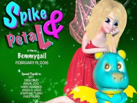 Spike and Petal Official Movie Dribble Poster