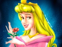 Princess Aurora Digital Painting