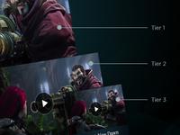 Game Client Rework - Content Tiers
