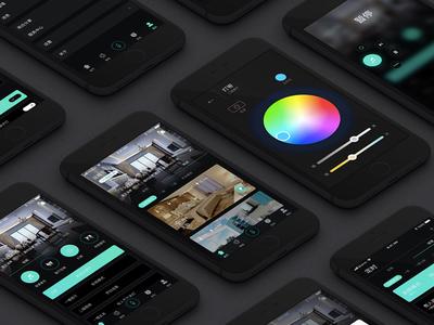 Smart Home APP concept design 04