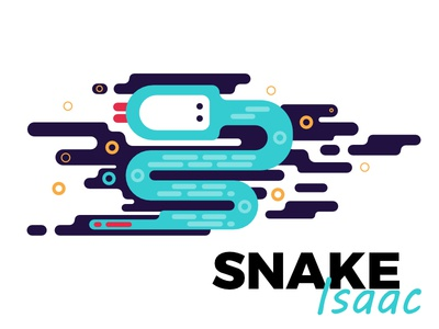 Corner Creatures vector simple snake creatures corner designer affinity