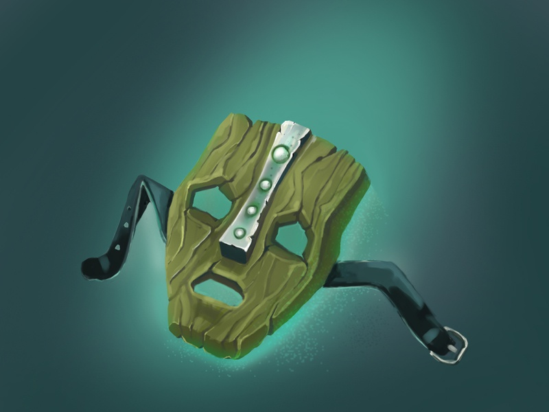 "Sketch ""MASK"" mask symbol xp-pen graphics tablet photoshop artwork art illustration illustration design"