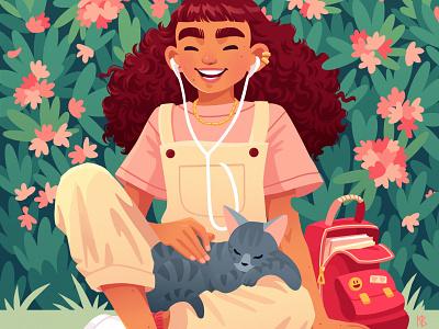 Springtime art design drawing procreateapp painting digital art digitalart procreate illustration