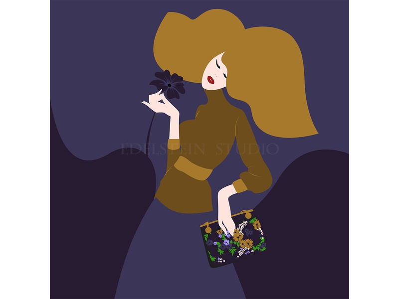 I Love Fashion vector illustration vector art vector print flat digital art illustrator illustration design art
