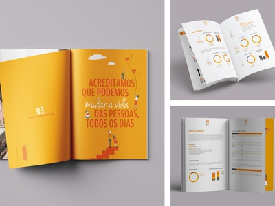 Sustainability Report from Montepio Group layoutdesign editorial layout annual report editorial design editorial