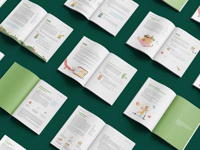 Sustainable Gulbenkian booklet illustration typesetting sustainability report sustainability digital design ebook print design book layout design graphic design editorial design editorial booklet