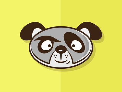 Woof! vector design flatdesign illustration animals
