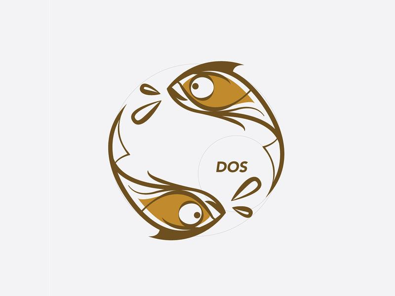 Two Fish in a Pond illustration graphic design illustrator character vector illustration digital animals flatdesign vector