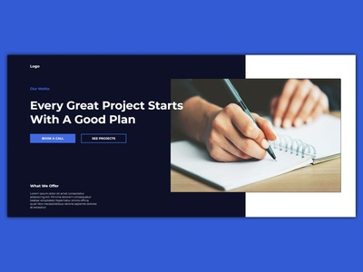 Good Plan projects plan webdesign ux design uidesign ux ui bootstrap javascript css html