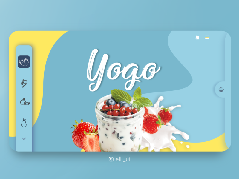 Yogo interfacedesign uxdesign ui  ux uidesigns colors headers header design color user interface design user experience userinterface flaticons flat website web ux design uidesign ui