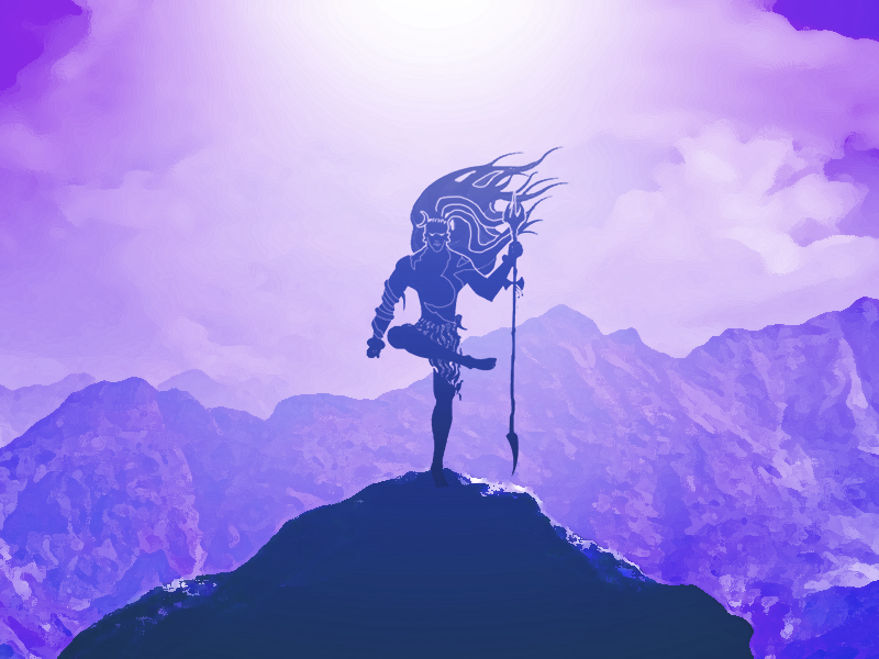 Silhouette Shiv by Parth Gosai on Dribbble